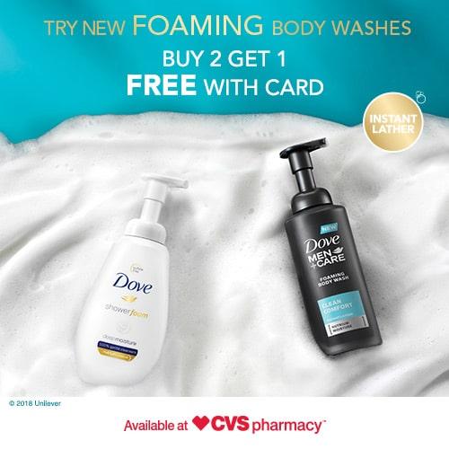 CVS Dove Foam Deal