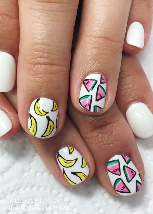 32 Summer and Spring Nails Designs and Art Ideas - April Golightly