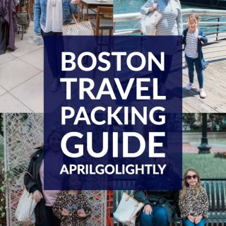 Boston Travel Packing Guide