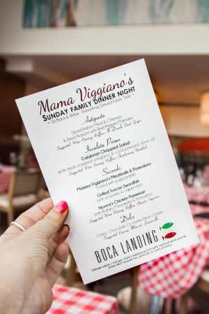 'Momma Viggianos Sunday Dinner' Italian style