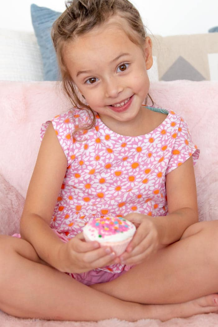 Pinkalicious Cupcake Bath Bomb