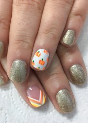 fall nail design and colors