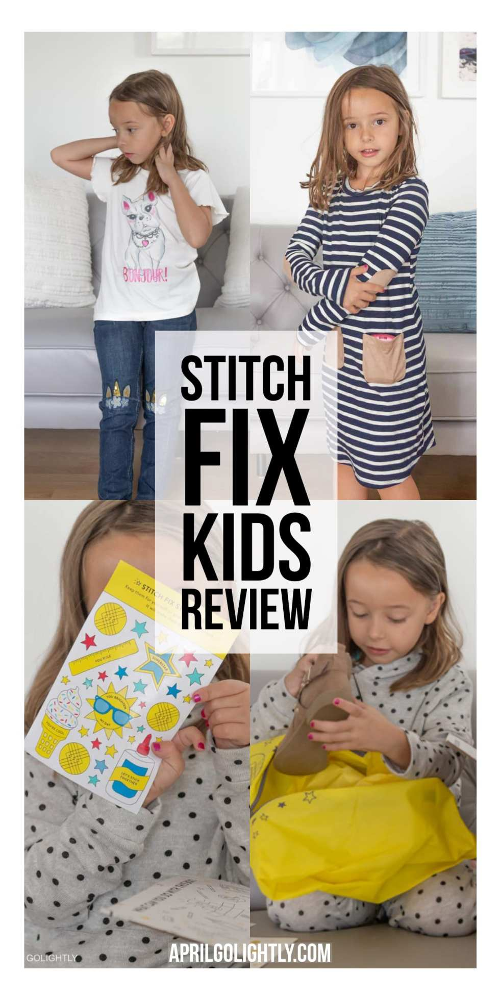 Stitch Fix Kids Review for Girls
