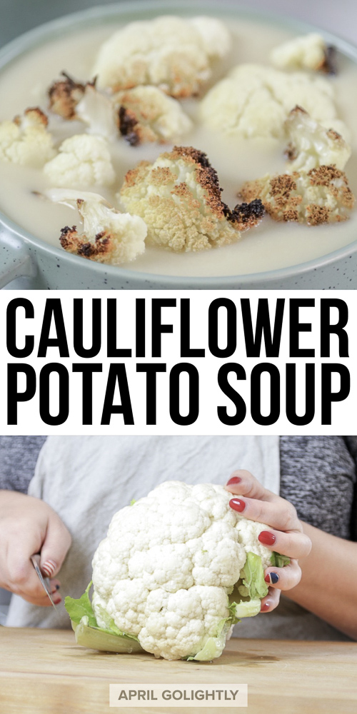 Cauliflower Potato Soup Recipe