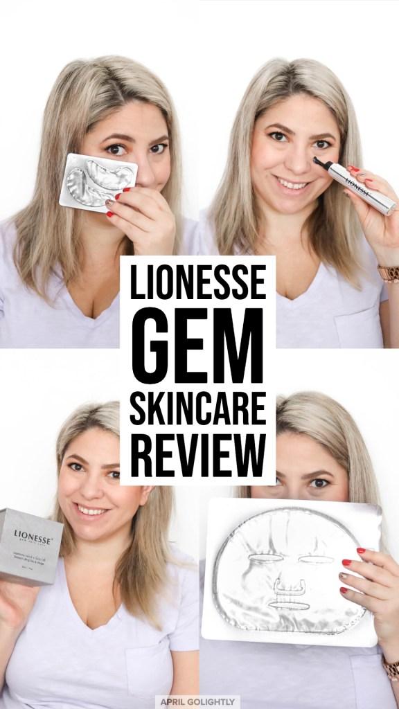 Lionesse Gem Skin Care Review April Golightly