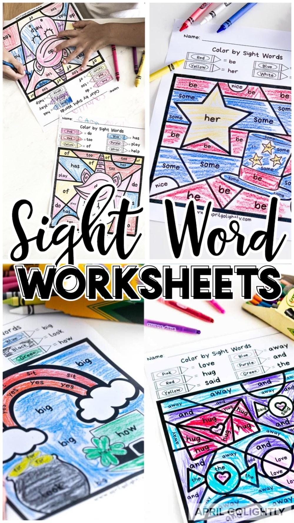 medium resolution of Sight Word Worksheets FREE Printables
