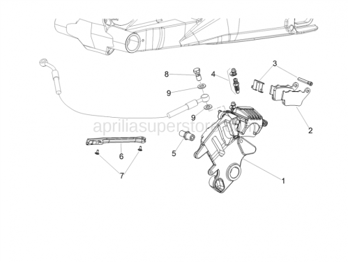 small resolution of diagram of brake caliper