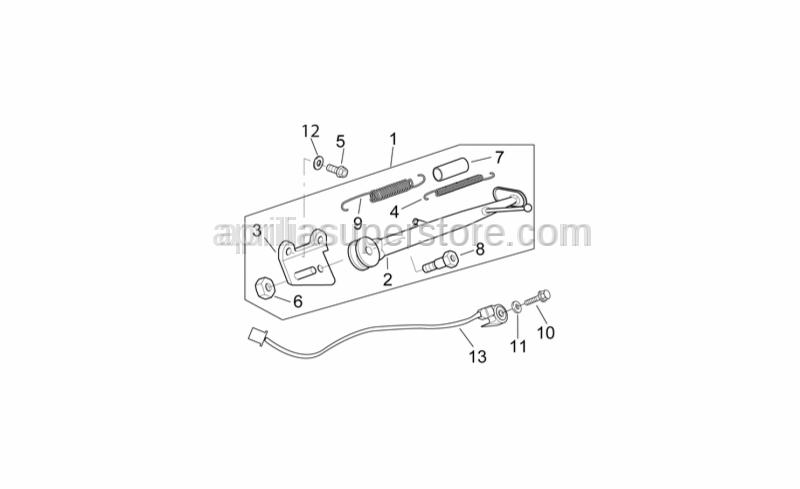 Screw w/ flange M10x30