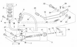 Rear brake pump