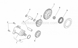 OEM Aprilia Starter Motor
