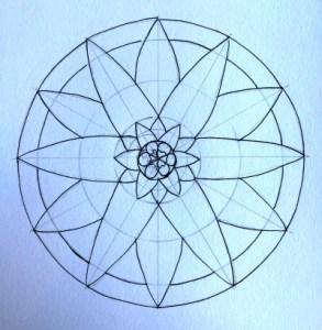Mandala Inked In