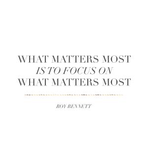 limits create focus