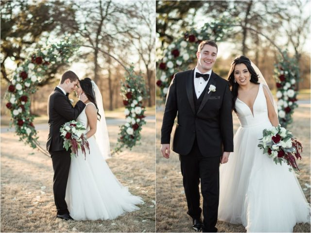 brianna & marcus   lone oak barn wedding   round rock, texas