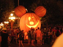 Giant Mickey Pumpkin