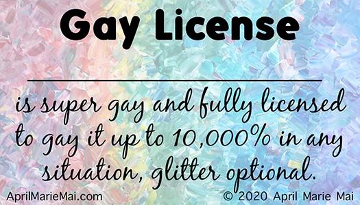 Gay License