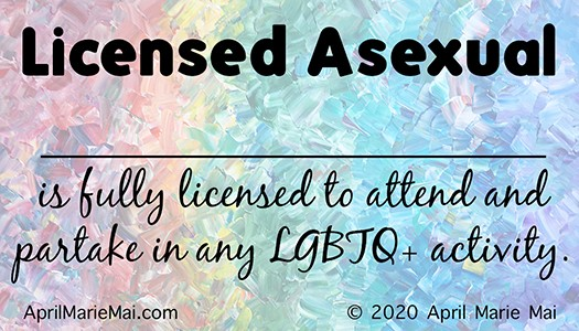 Licensed Asexual