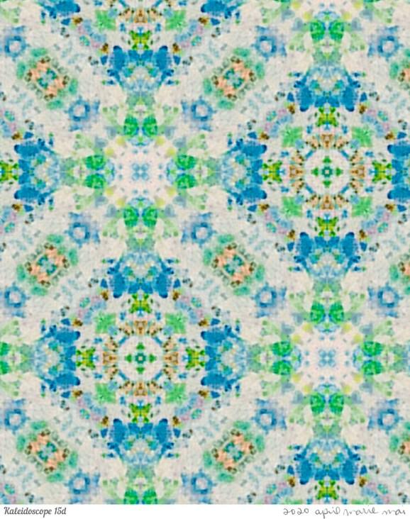 Kaleidoscope 15 Detail Print
