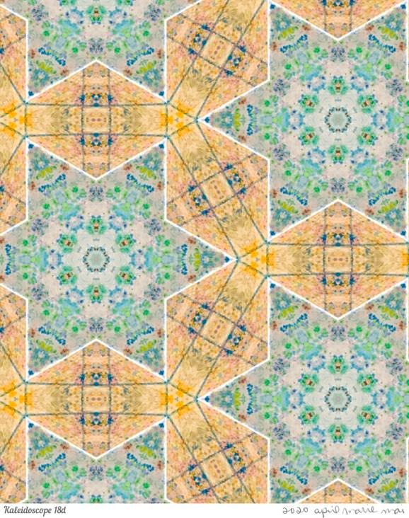 Kaleidoscope 18 Detail Print