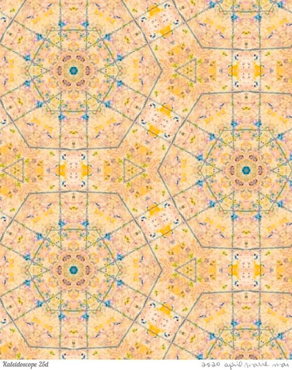 Kaleidoscope 25 Detail Print