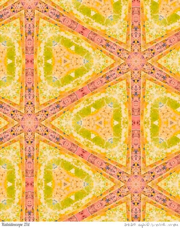 Kaleidoscope 27 Detail Print