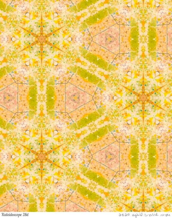 Kaleidoscope 28 Detail Print