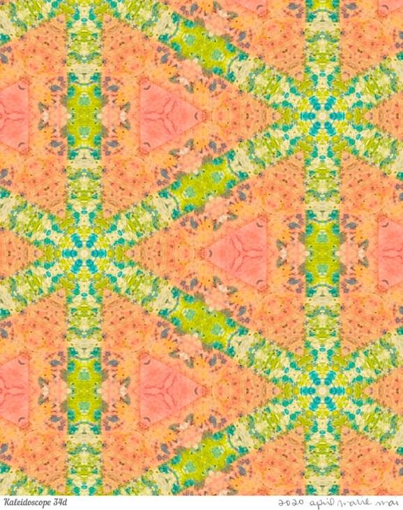 Kaleidoscope 34 Detail Print