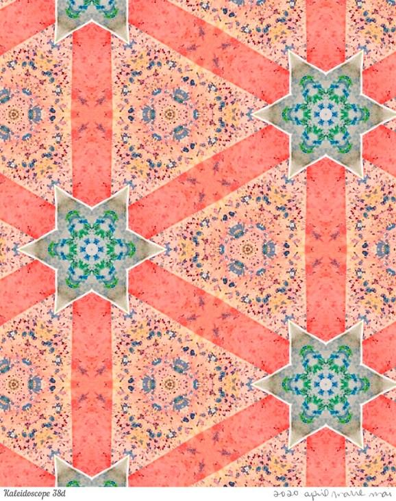Kaleidoscope 38 Detail Print
