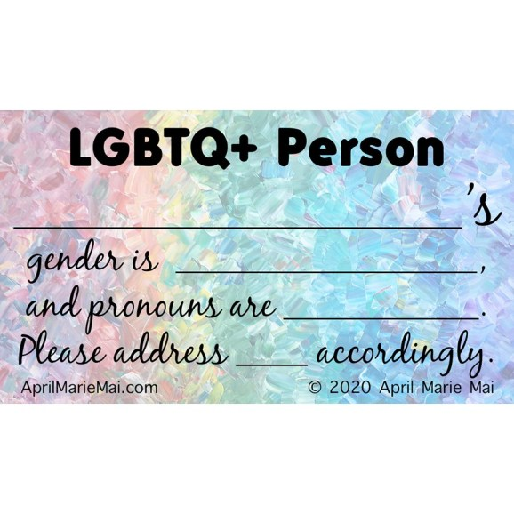 LGBTQ+ Membership Cards