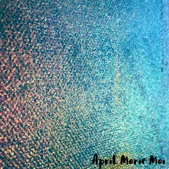 Blue & Gold Glitter Detail