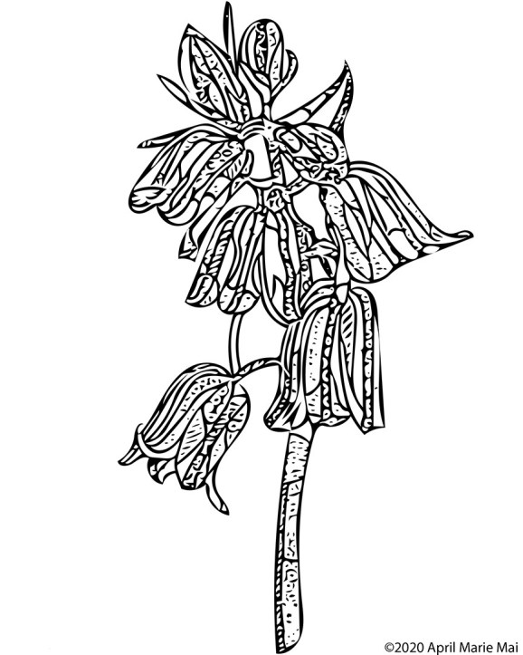 Bluebell Coloring Page