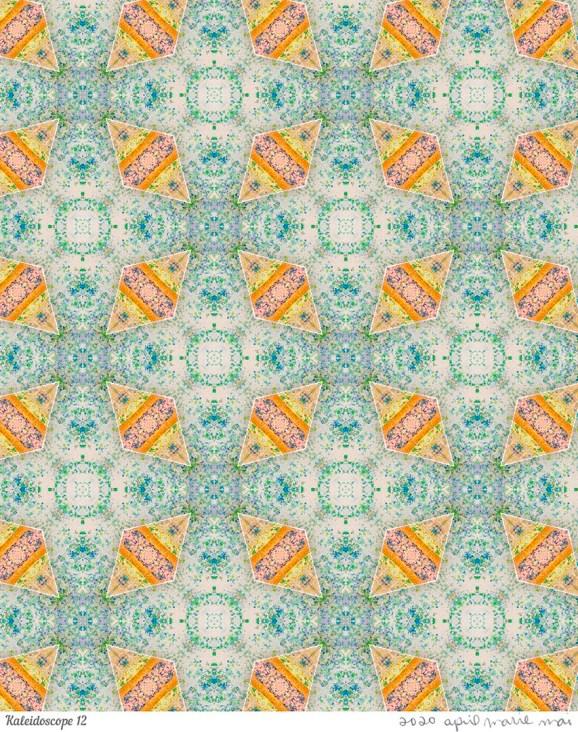 Kaleidoscope 12 Print