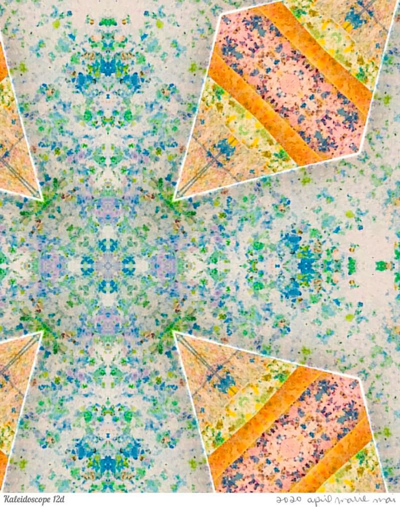 Kaleidoscope 12 Detail Print