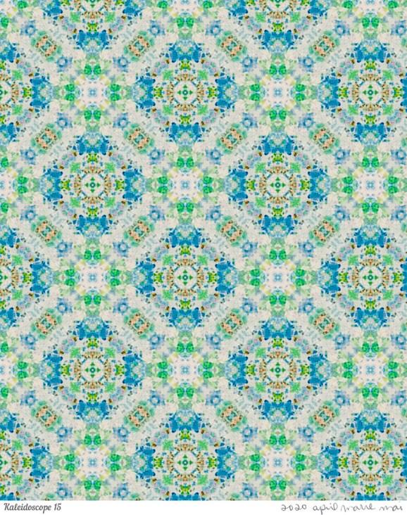 Kaleidoscope 15 Print