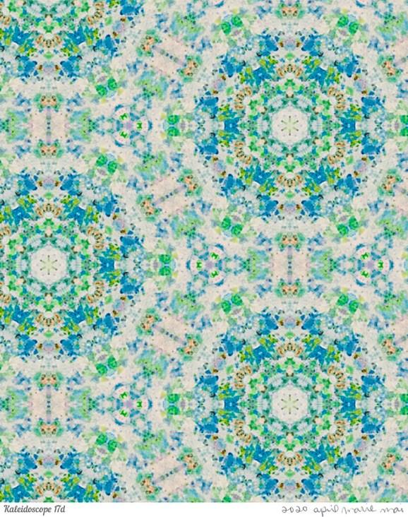Kaleidoscope 17 Detail Print