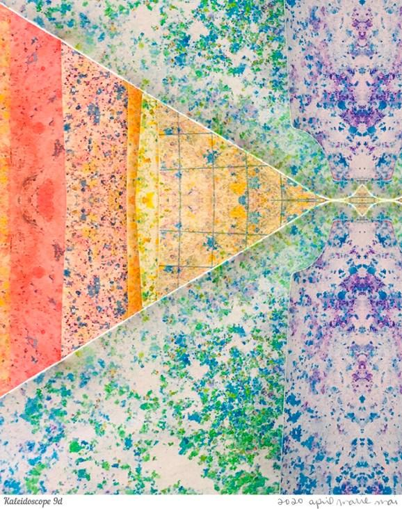 Kaleidoscope 9 Detail Print