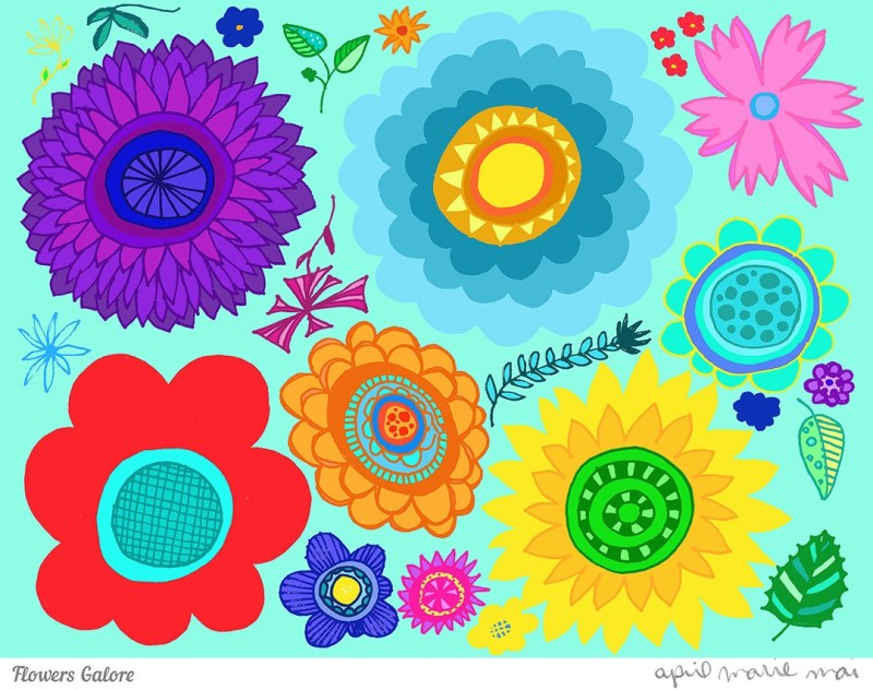 Flowers Galore Print