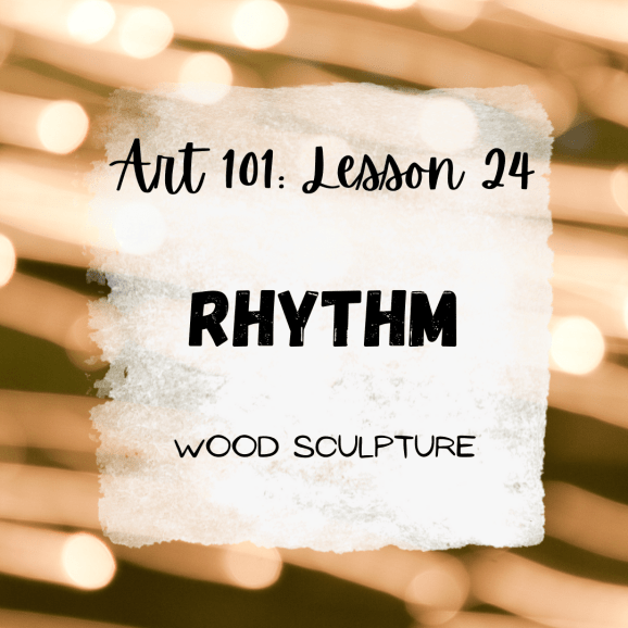 Rhythm in Art: Painted Wood Sculptures