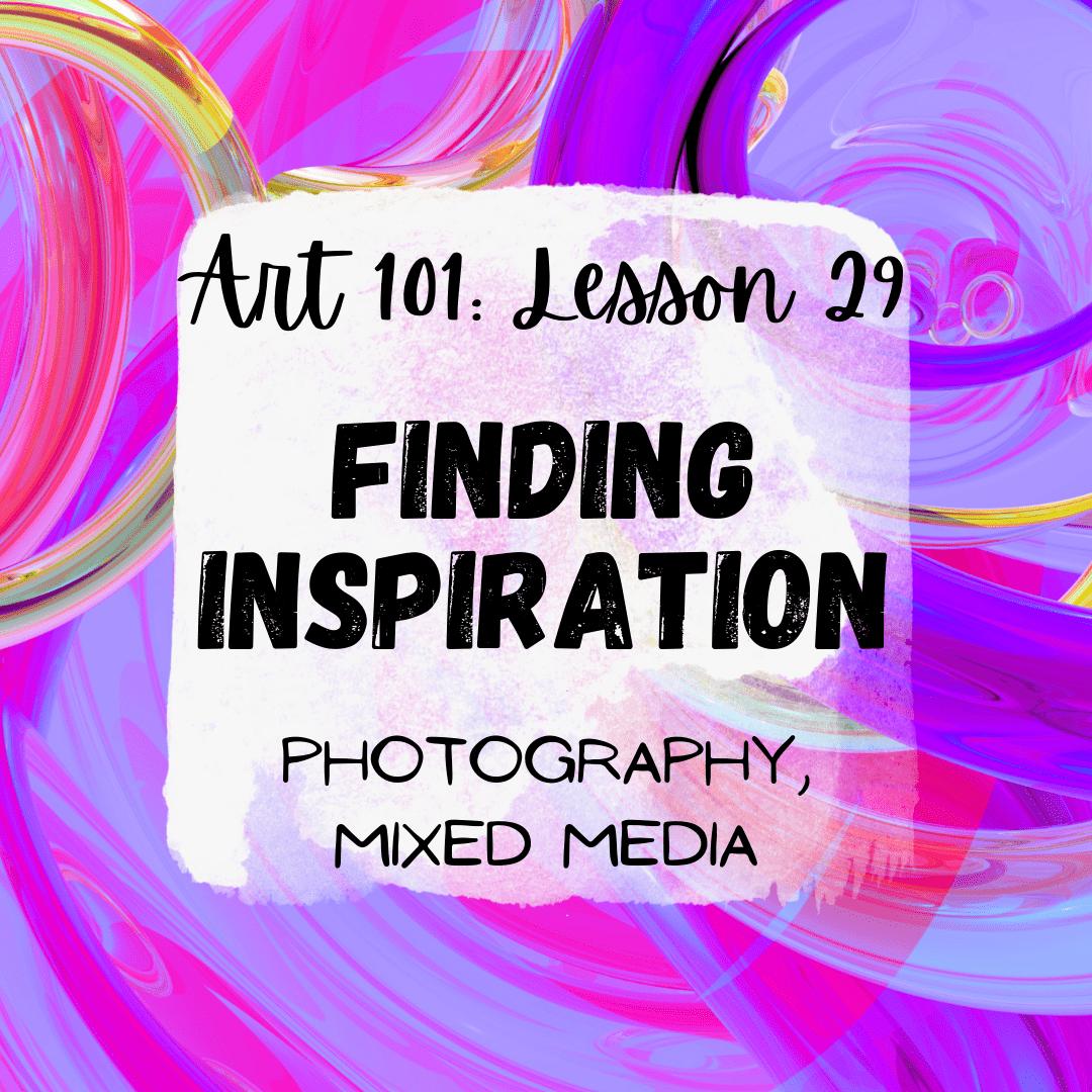 Finding Inspiration: Sketchbook
