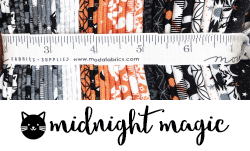 midnight magic fabric by april rosenthal for moda