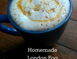 Homemade London Fog {Naturally Sweetened}
