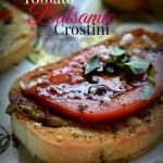 Tomato Balsamic Crostini