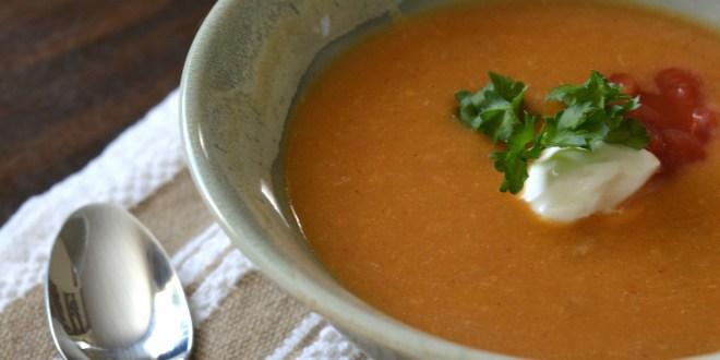 Zesty Southwestern Soup
