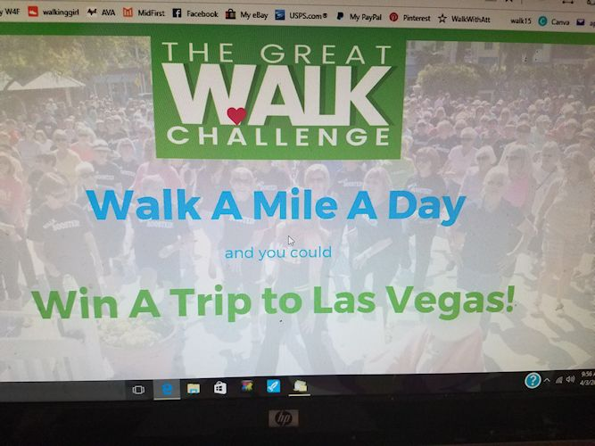 Great Walk Challenge