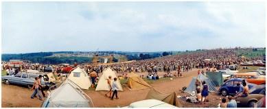 Woodstock before the music began (Elliott Landy)