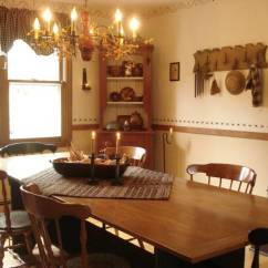 Country Living Room Decorating Pictures Cottage Style A Primitive Place ~ & Colonial Inspired Dining Rooms