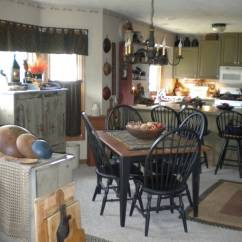 What S A Chair Rail Hanging For Indoors Primitive Place ~ & Colonial Inspired Dining Rooms