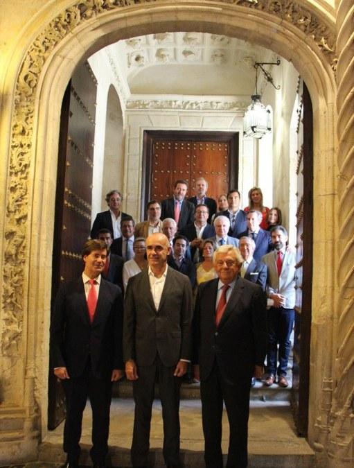 Ayuntamiento, CES y Cámara de Comercio firman una declaración por el turismo de Sevilla, a la que asiste el Vicepresidente de Aprocom, y que servirá de base para un futuro pacto con todos los agentes sociales y económicos.