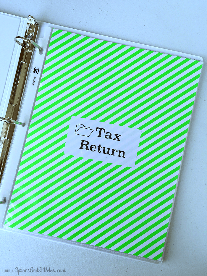 The Best Way to Organize Your Tax Return
