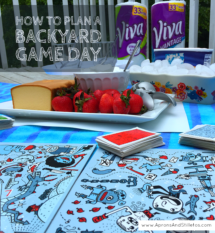 How to Plan a Backyard Game Day