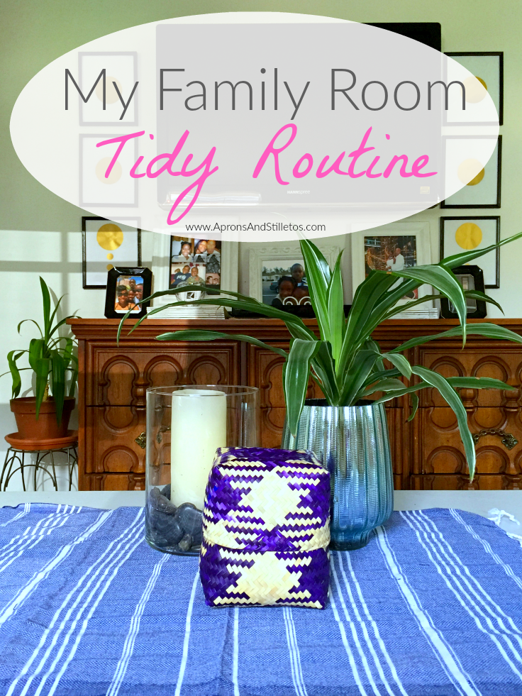 My Family Room Tidy Routine